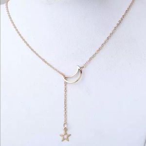 Jewelry - Moon and Star Necklace
